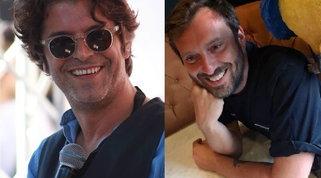 "Samuele Bersani presenta ""Harakiri"" | Cremonini applaude: ""Sei un genio"""