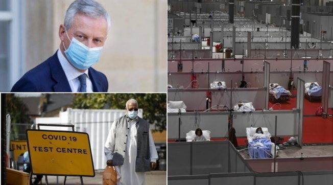 "Allarme in Francia, 13mila casi in 24 ore | Inghilterra, lockdown per 15 milioni: ""Inevitabile una seconda ondata"""