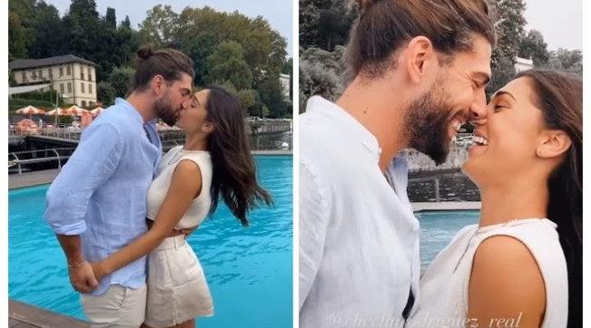 La foto che tutti aspettavano: il bacio tra Cecilia e Ignazio