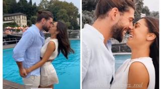 Ecco la foto che tutti aspettavano: il bacio tra Cecilia e Ignazio