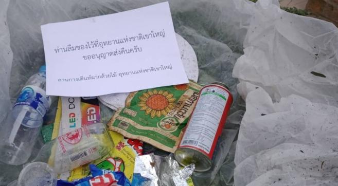 Thailandia, la riserva naturale di Khao Yaispedisce i rifiutia casa dei turisti che sporcano