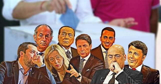 """""""L'Italia al voto: cosa si giocano gli 8 leader"""""""