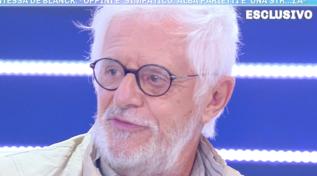 """""""Domenica Live"""", Franco Oppini si scaglia contro Alba Parietti: """"Lascia respirare nostro figlio"""""""