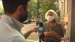 Guanti, igienizzante e mascherina: il voto ai tempi del Covid