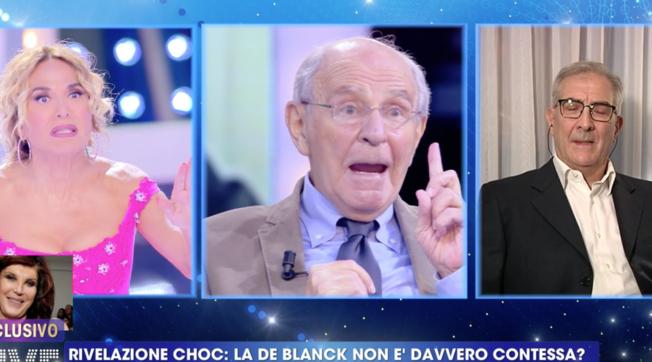 """""""Live - Non è la d'Urso"""", Giangavino Sulas: """"Patrizia De Blanck è stata adottata"""""""