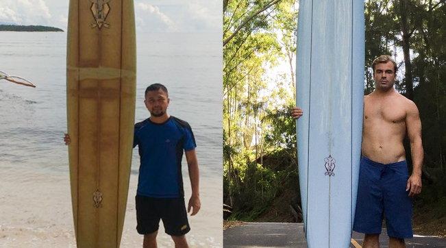 Surfista perde la tavola alle Hawaii, ritrovata nelle Filippine due anni dopo