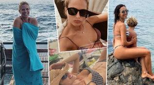 Le vip sono ancora al mare: dalla Balivo alla Lagerbackeccole in bikini
