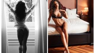 Raffaella Fico in lingerie lascia tutti senza fiato