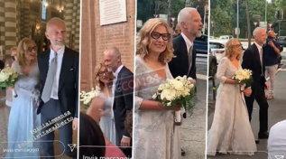 Nicoletta Mantovani ha sposato Alberto Tinarelli, ecco le foto del sì romantico