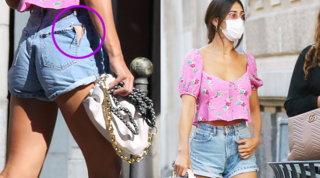 Cecilia Rodriguez, borsa di lusso da 3mila euro e buco sui pantaloni