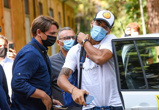 Suarez a Perugia per l'esame di italiano