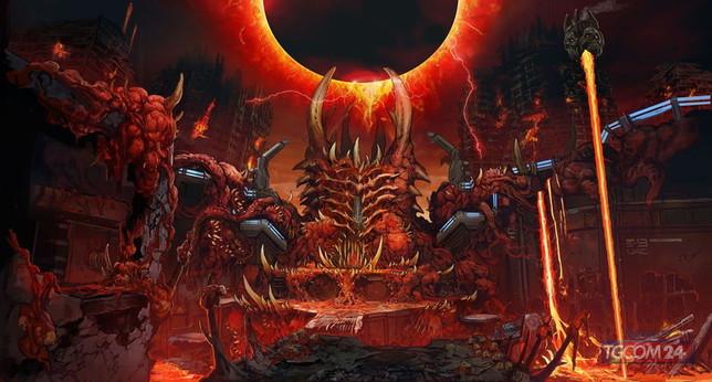 Doom Eternal, gli artwork dedicati delle ambientazioni