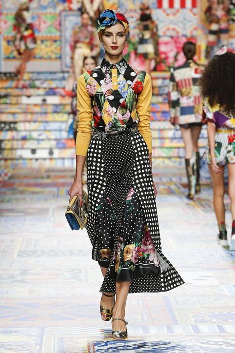 Milano Fashion Week, Dolce&Gabbana P/E 2021: i look della sfilata