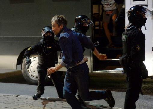Bielorussia, proteste contro il governo: oltre cento arresti