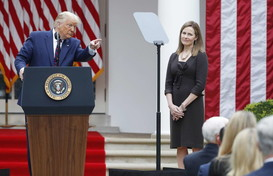 Usa:,Trump annuncia nomina Amy Coney Barrett alla Corte Suprema