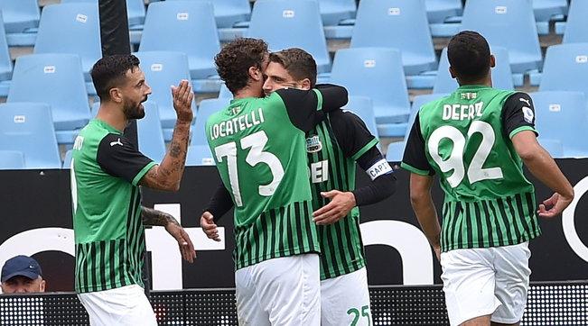 Il Sassuolo non fa sconti: Spezia travolto all'esordio in Serie A
