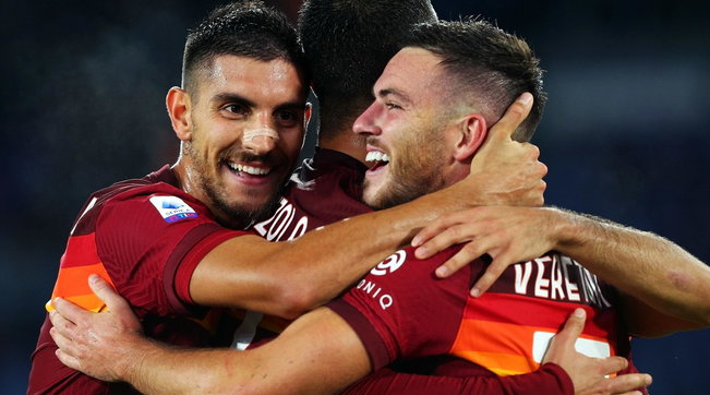 Roma-Juve, 2-2 all'Olimpico Il Milan vince a Crotone, Napoli-Genoa 6-0