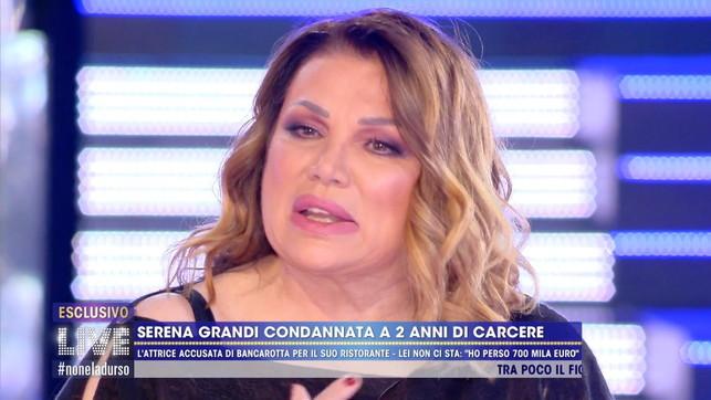 """Serena Grandi condannata per bancarotta: """"Mi hanno portato via tutto"""""""