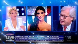 """Sgarbi racconta il suo flirt con Franceska Pepe: """"Una bellissima storia di 7 ore"""""""