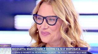 """Nicoletta Mantovani e il matrimonio con Alberto Tinarelli: """"Un colpo di fulmine"""""""