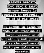 """Eroe di Milazzo, bufera social per un post dei ragazzi salvati: """"Nessuno si è buttato ed è morto per salvarci..."""""""