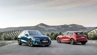 Le nuove Audi A3 a metano e mild-hybrid