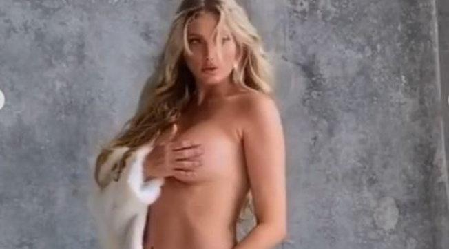 Elsa Hosk annuncia la sua gravidanza: ecco gli scatti premaman dell'ex Angelo di Victoria's Secret