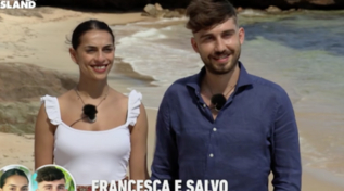 """""""Temptation Island"""", Francesca e Salvo sono la nuova coppia del reality"""