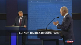 Duello Tv Trump-Biden: la vittoria al dem