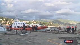 Maltempo, l'inviato NM a Portofino