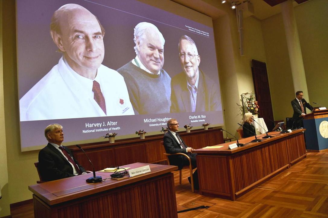 Nobel Medicina 2020 assegnato a tre virologi