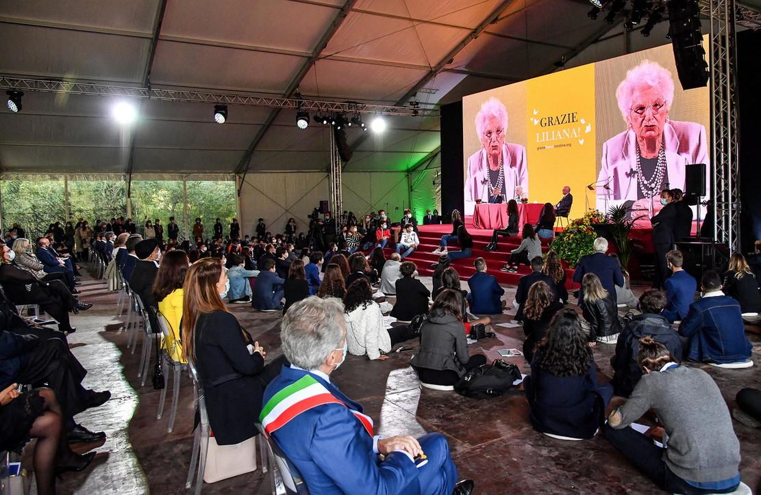 Shoah, ad Arezzo l'ultima testimonianza pubblica di Liliana Segre