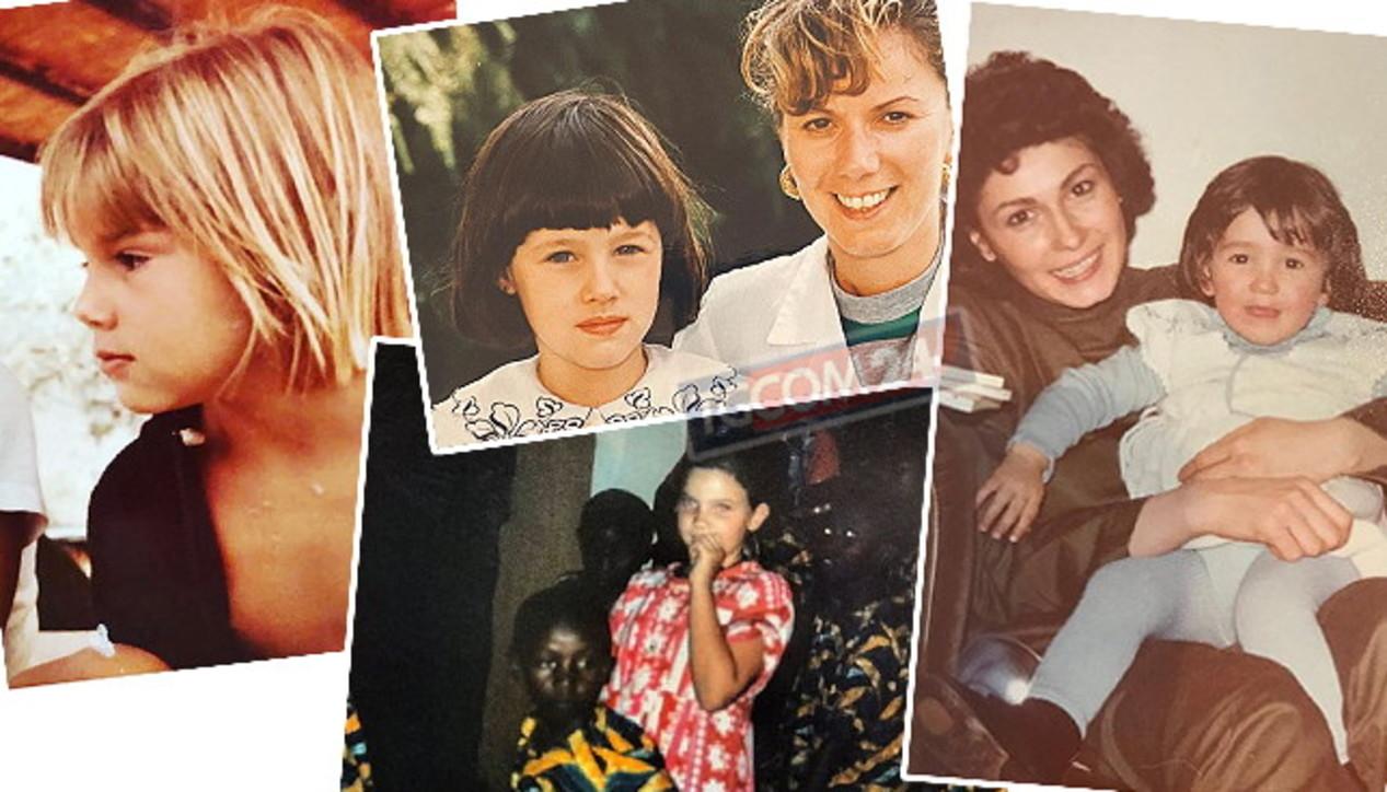 I vip da piccoli, ecco le foto delle ragazze che sono diventate famose