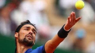Anche Fognini ha il Covid: tampone positivo al Sardegna Open