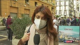Scuole chiuse in Campania, le proteste