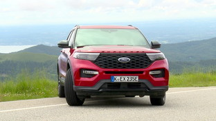 Ford Explorer ibrido plug-in