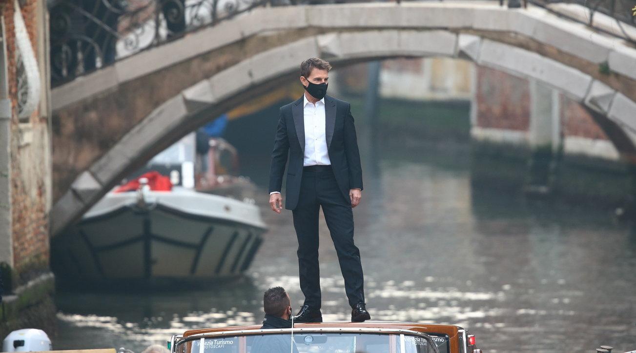 """Tom Cruisesbarca a Venezia: scene d'azione tra i canali per le riprese di """"Mission: Impossible 7"""""""
