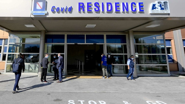 Ospedale Mare a Napoli, apre residence per sintomatici
