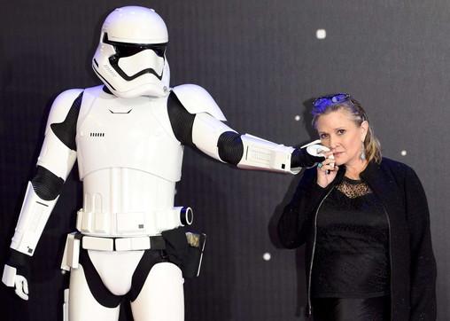 Carrie Fisher, indimenticabile principessa Leia