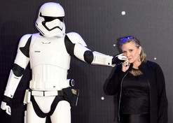 Carrie Fisher, indimenticabile principessa Leia