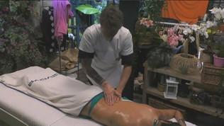 Andrea Zelletta massaggiatore per Elisabetta Gregoraci