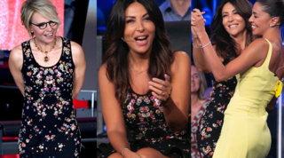 Da Sanremo a... Tu si que vales: Sabrina Ferilli col vestito di Maria De Filippi