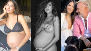 Sharon Fonseca, sensualità (e nudo) nonostante la gravidanza agli sgoccioli