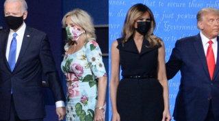 Trump vs Biden: il duello è anche nel look delle mogli