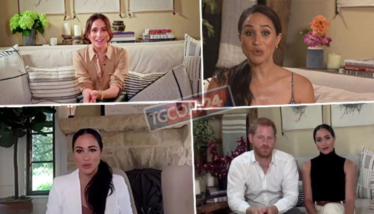 Nella casa di Meghan Markle, guarda i dettagli mostrati nei video