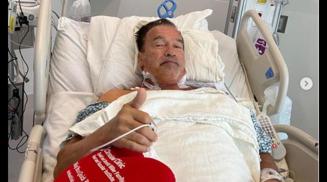 """Arnold Schwarzenegger operato al cuore: """"Sto benissimo"""""""