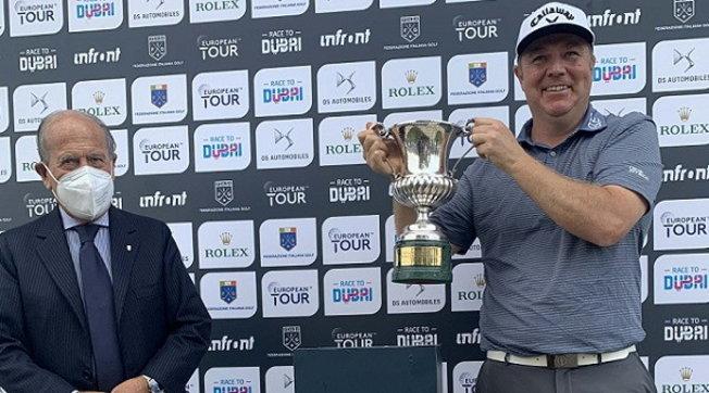 The Italian job: l'inglese Ross McGowan vince l'Open d'Italia 2020