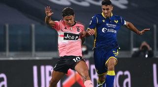Juventus fermata in casa dal Verona, dai pali e dal Var: 1-1