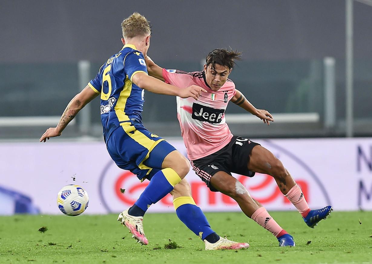 Serie A, Juventus-Verona 1-1: Kulusevski salva Pirlo