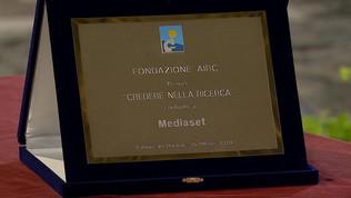 Il Presidente della Repubblica premia Mediaset per l'impegno sociale